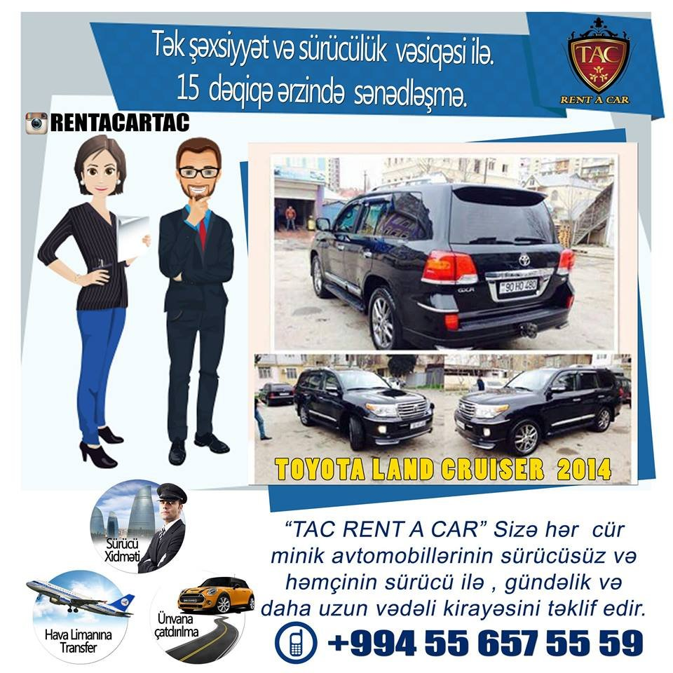 Rent A Car Tac-Avtomobillerin Icaresi